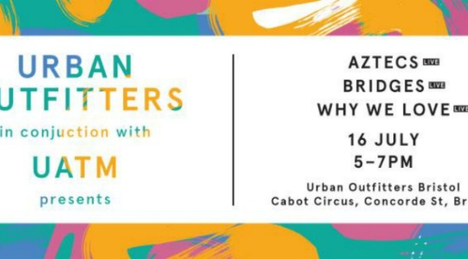 UATM Announce Warm Up Show With Urban Outfitters.