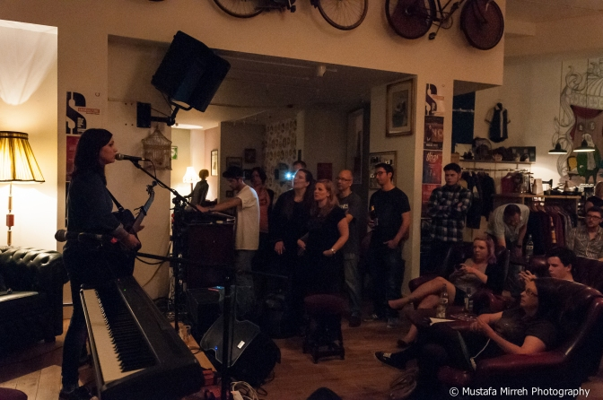 Photoset: Billy The Kid + Rebecca Clements + Mary Spender @ The Birdcage (29/8/14)