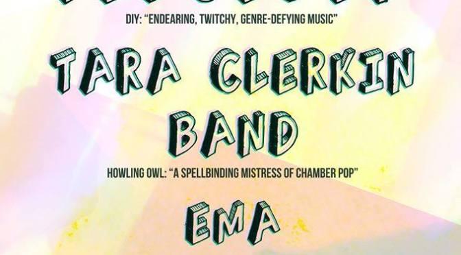 Preview: Chiverin Showcase – Febueder + Tara Clerkin Band + Ema Sierra @ The Louisiana (16/10/14)